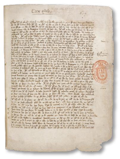 MS 609 Folio 1r